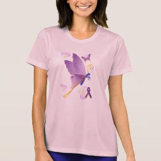Camiseta Consciência fibro roxa