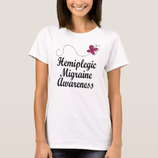 Camiseta Consciência hemiplégica da enxaqueca
