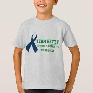 Camiseta Consciência juvenil feita sob encomenda da artrite