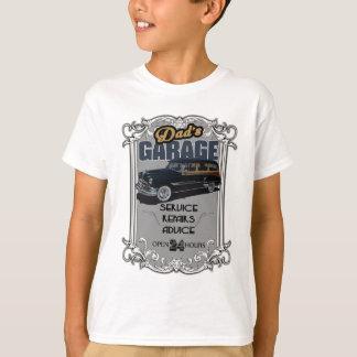 Camiseta Conselho e reparos da garagem do pai