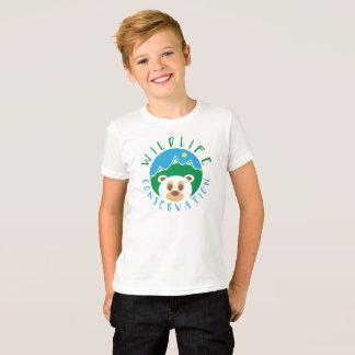 Camiseta Conservação dos animais selvagens