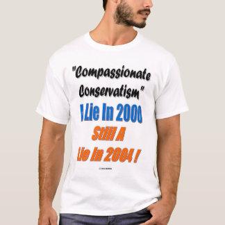 Camiseta Conservativism compassivo?