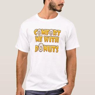 Camiseta Console-me com rosquinhas