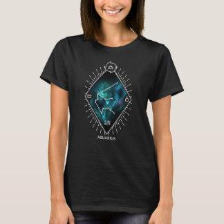 Camiseta Constelação do Aquário & símbolo do zodíaco