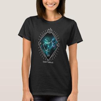 Camiseta Constelação do Sagitário & símbolo do zodíaco
