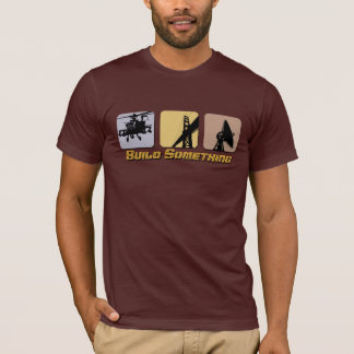 Camiseta Construção algo t-shirt da engenharia