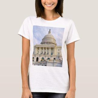 Camiseta Construção de Capitol Hill no Washington DC