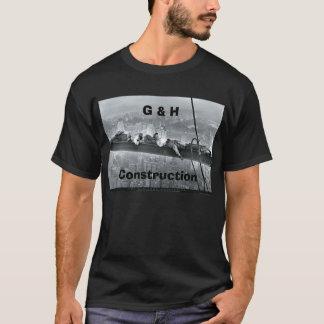 Camiseta Construção de G & de H