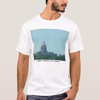 Camiseta Construção do Capitólio, jefferson city, Mo.