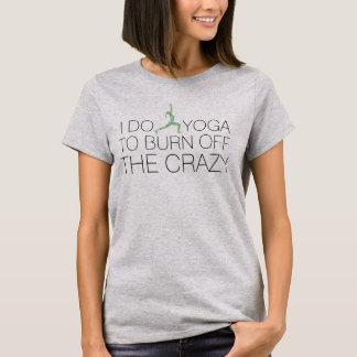 """Camiseta """"Consuma"""" o T engraçado louco da pose do guerreiro"""