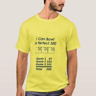 Camiseta Contagem de boliche perfeita