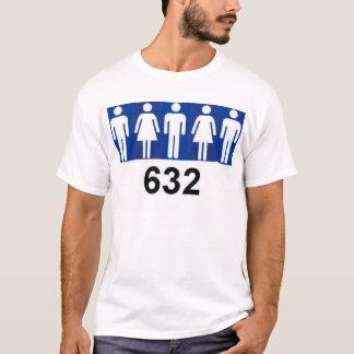 Camiseta Contagem do comparecimento