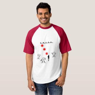 Camiseta Contagem regressiva do ano novo