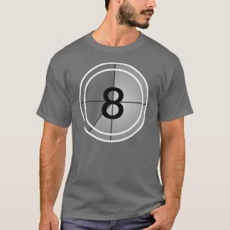 Camiseta Contagem regressiva do filme