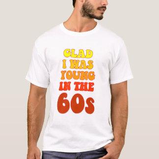 Camiseta Contente eu era novo no t-shirt dos anos 60