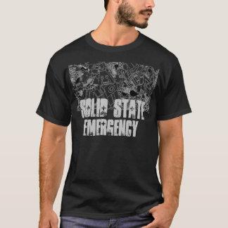 Camiseta Contínuo - preto da emergência do estado