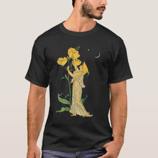 Camiseta Conto de fadas do vintage, prímula de noite,
