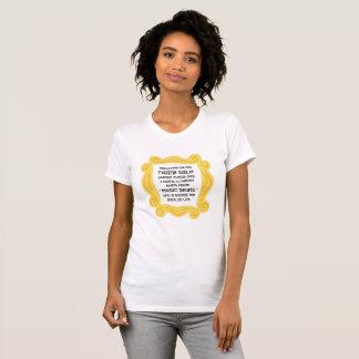 Camiseta Conto de fadas mágico da poção do feijão do T