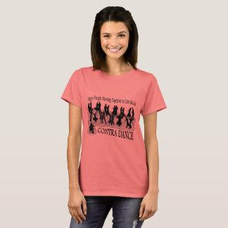Camiseta Contra a dança (imagem melhorada) - o T básico das