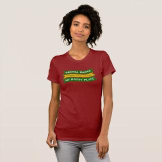 Camiseta Contra a dança - meu lugar feliz