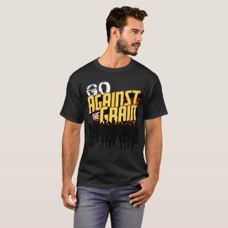 Camiseta Contra a grão (vá contra a grão)