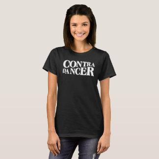 Camiseta Contra a rotulação Dançarino-Branca