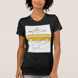 Camiseta contra-almirante do ouro, fernandes tony
