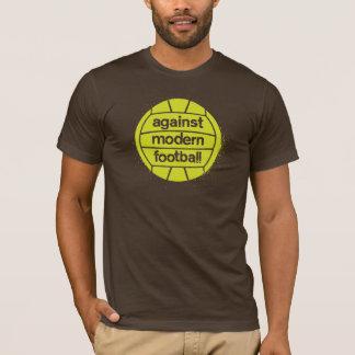 Camiseta Contra o futebol moderno (Brown/limão)