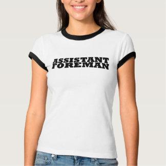 Camiseta contramestre assistente