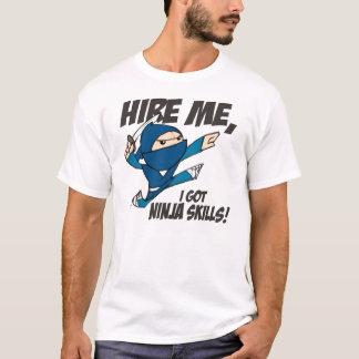 Camiseta Contrate-me Sr. Ninja