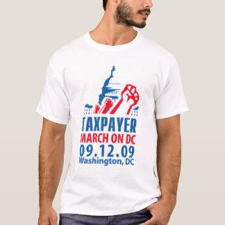 Camiseta Contribuinte março no Washington DC 09.12.09