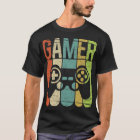 Camiseta Controlador do jogo do Gamer