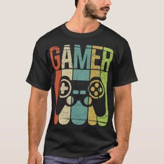 Camiseta Controlador do jogo do Gamer