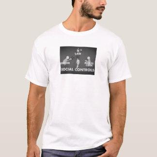 Camiseta Controles sociais