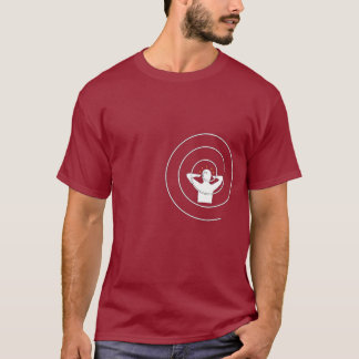 Camiseta Controlo da mente - branco