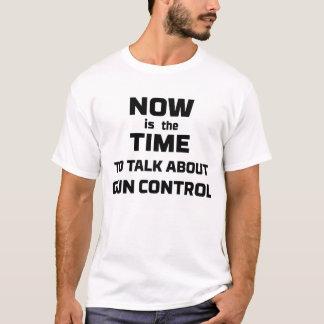 Camiseta Controlo de armas agora março para nossa anti arma