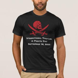 Camiseta Conversa 2017 como um t-shirt do dia do pirata