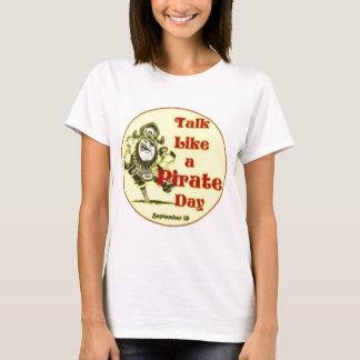 Camiseta Conversa como um dia do pirata