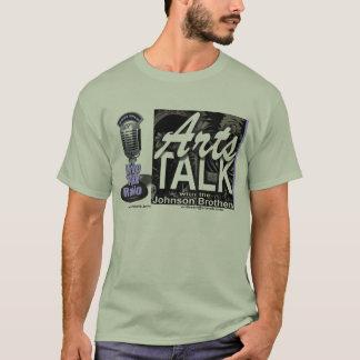 Camiseta Conversa das artes com o t-shirt dos irmãos de