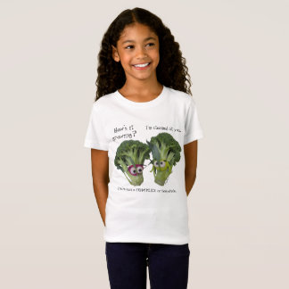 Camiseta Conversa engraçada dos brócolos