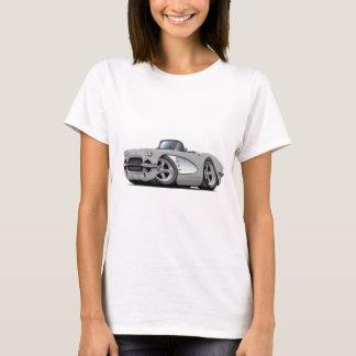 Camiseta Convertible 1961 de prata de Corveta