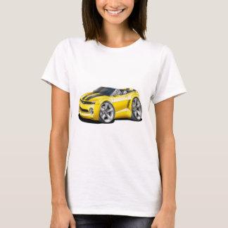 Camiseta Convertible 2012 Amarelo-Preto de Camaro
