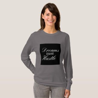 Camiseta Convicção da procura dos sonhos