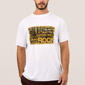 Camiseta Convite de festas da música rock como a arte do