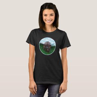 Camiseta Coo pequenino de Heilan no prado