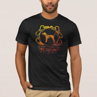 Camiseta Coonhound resistido elegante de Redbone