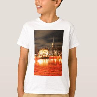 Camiseta Copenhaga, Dinamarca no Natal