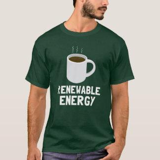 Camiseta Copo de café da energia renovável