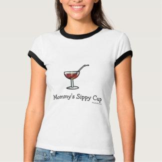 Camiseta Copo do Sippy da mamã