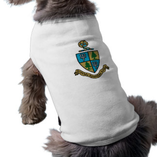 Camiseta Cor da crista do delta do delta do delta